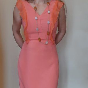French Connection/ Coral Dress/